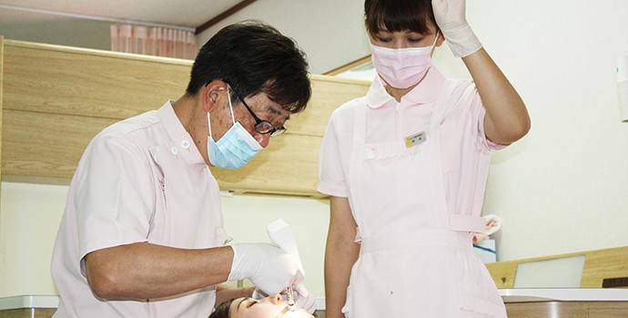 歯医者が苦手な方でも安心